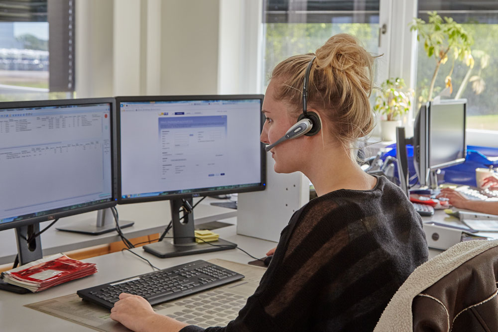 Customer service at STARCO Call centre in Winzen Germany